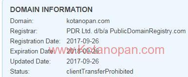 Kelanjutan Website Kotanopan.com