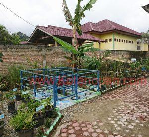 Taman Refleksi Di UPT Puskesmas Kotanopan Mandailing Natal