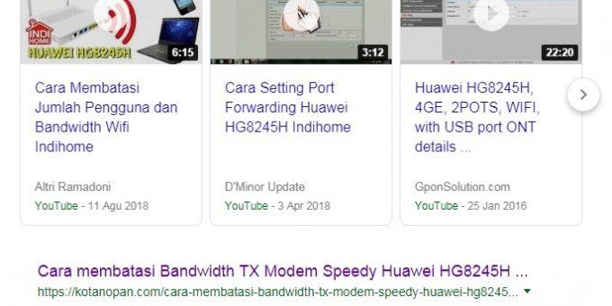 Agar Website Terindeks di halaman Pertama Google