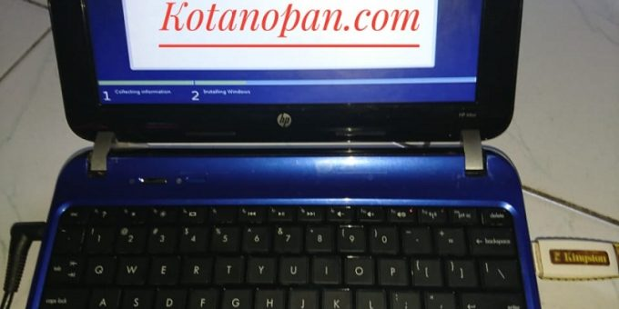 Cara Instal Ulang Notebook dan laptop HP Hewlett Packet Ke windows 7