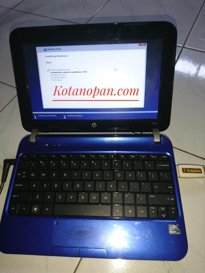 Cara Instal Ulang Notebook dan laptop HP Hewlett Packet Ke windows 7