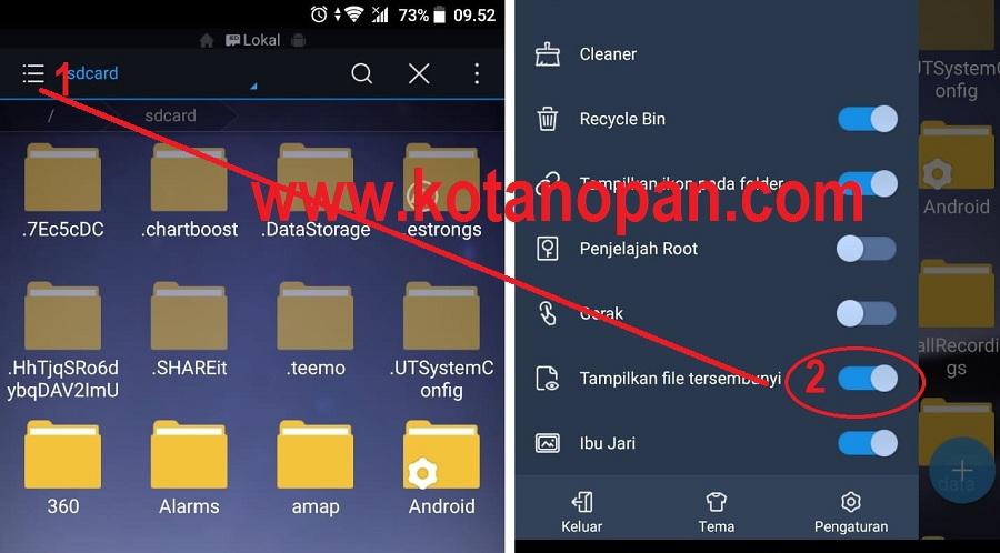 Cara Mengembalikan Foto Yang Terhapus Di handphone Android
