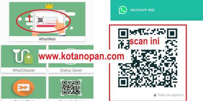 Cara menyadap WA menggunakan whats web What scan Cloner
