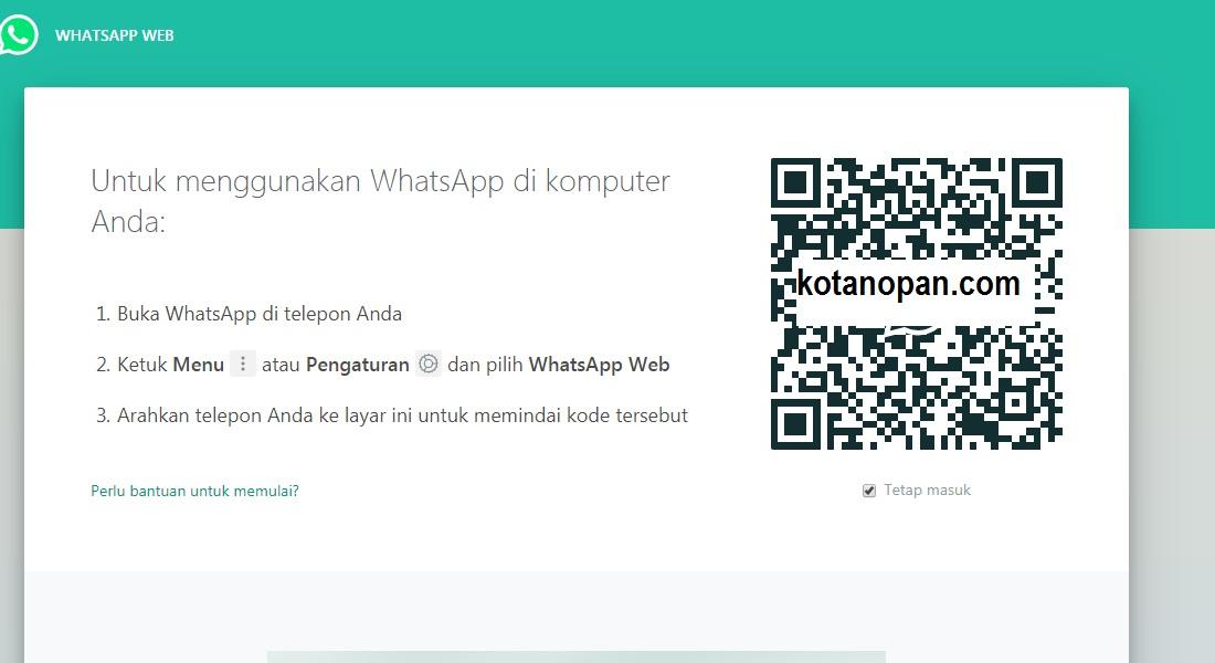 Cara menyadap Whatsapp Tanpa Aplikasi Tanpa Root Modal browser Saja
