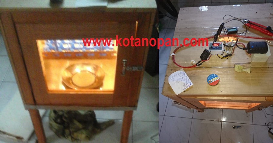 Proses Pembuatan dan Perakitan Mesin Tetas Telur Ayam Semi Otomatis