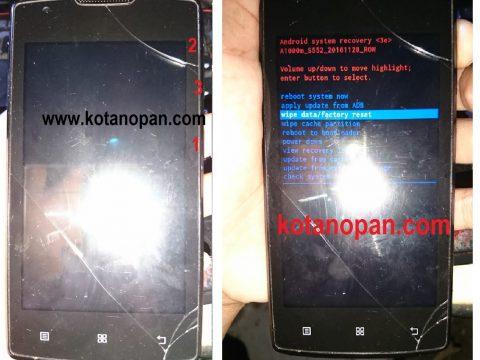 Cara Factory Hard Reset Handphone Lenovo A1000M