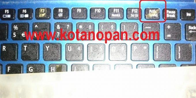 Cara Capture Laptop Tanpa Software