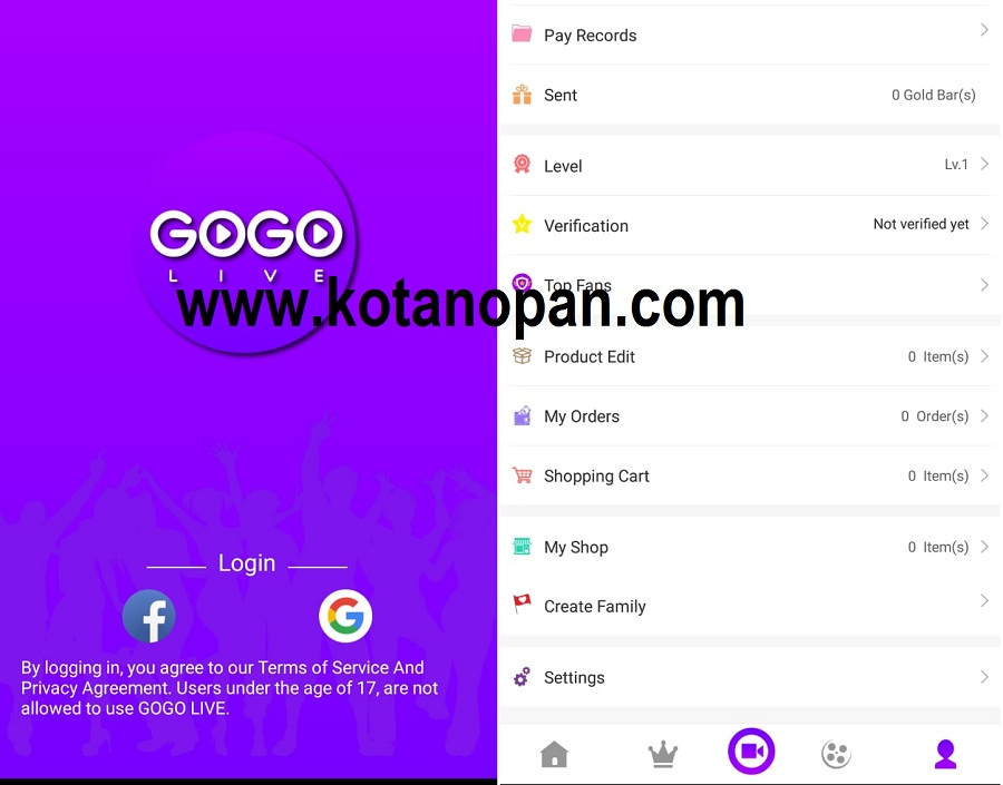 Download GOGO Live Terbaru 2019