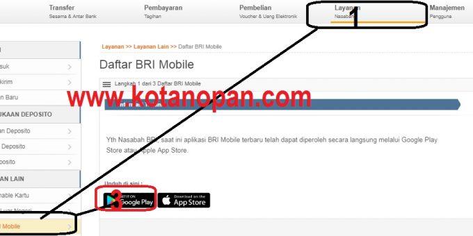 Cara Daftar dan Pindah Aplikasi Internet Banking BRI Mobile