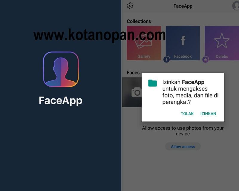 Cara Memperbaiki FaceApp Tidak bisa Digunakan Memproses Foto