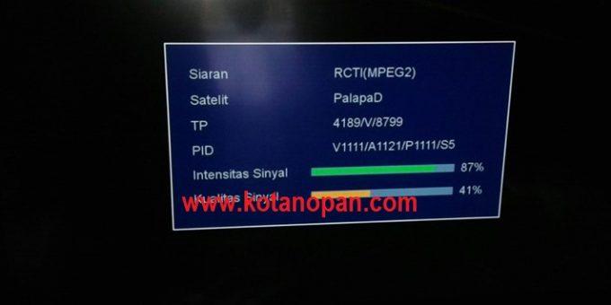 Solusi Siaran GTV RCTI dan MNCTV yang diacak atau hilang