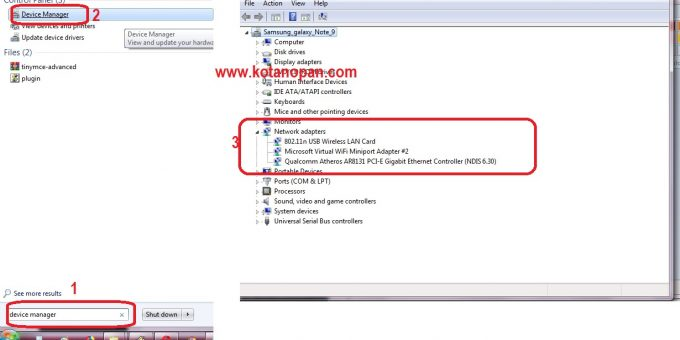 Driver Wifi Windows 7 64 dan 32 untuk Aneka Merek Laptop