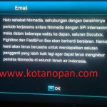 Channel Docubox, fightbox dan fast&fun Box Hilang dari Ninmedia