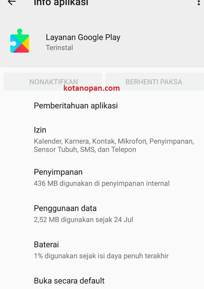 Download dan Cara Mengatasi Google Play Service Terhenti Atau Error