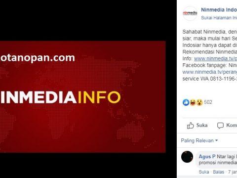 SCTV dan Indosiar Hilang dari Ninmedia? Ini solusinya