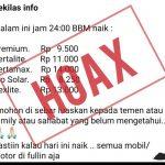 Harga BBM Naik 30 Agustus 2019 HOAXS