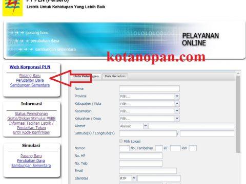Cara mengisi formulir pendaftaran Online PLN tidak sulit kok, yang perlu disiapkan hanya SLO, KTP, e-mail valid (gunakan saja e-mail yanga da di HP android tidak apa) yang penting bisa dibuka e-mailnya, karena nanti konfirmasi total bayar akan ada di e-mail kita, dan alamat kita. Total biaya pasang baru bisa dilihat