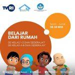 Jadwal Belajar dari rumah TVRI mulai 13 April 2020