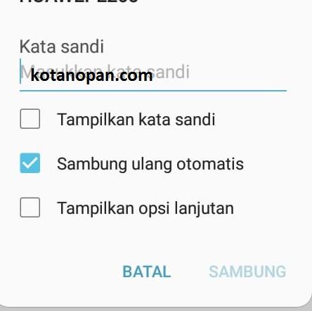 Solusi Wifi Handphone terhubung Tapi tidak bisa mengakses Internet