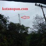 Ketika BTS Tower Utama Telkomsel Down se-kotanopan kehilangan sinyal